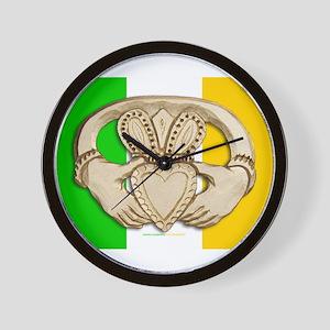 Irish Claddagh Wall Clock