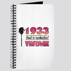 1933 Vintage (Palm Tree) Journal