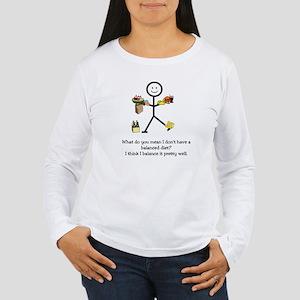 Balanced Diet Women's Long Sleeve T-Shirt
