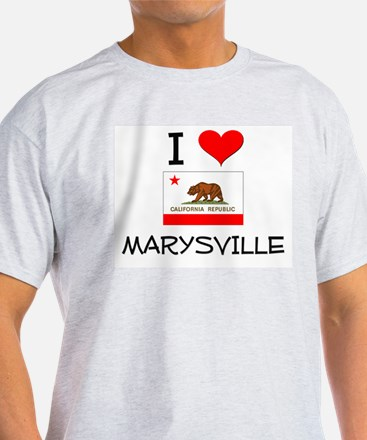 I Love Marysville California T-Shirt