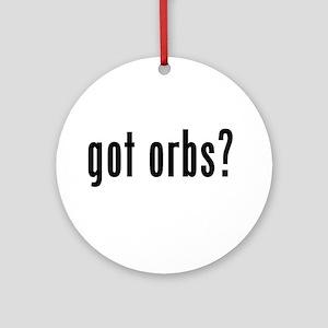 got orbs? Ornament (Round)