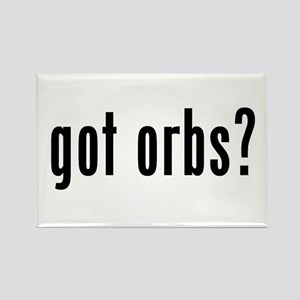 got orbs? Rectangle Magnet