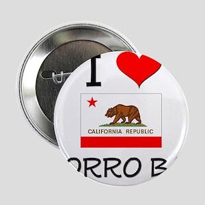 """I Love Morro Bay California 2.25"""" Button"""