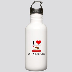 I Love Mt. Shasta California Water Bottle