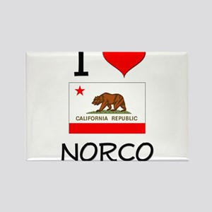 I Love Norco California Magnets