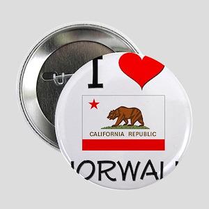 "I Love Norwalk California 2.25"" Button"