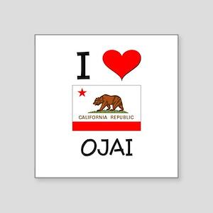 I Love Ojai California Sticker