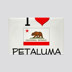 I Love Petaluma California Magnets