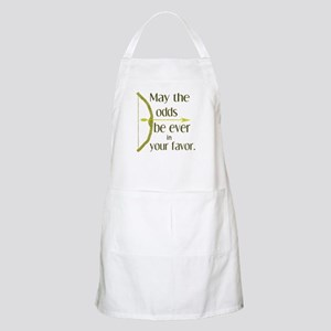 Odds Favor Bow Arrow Apron