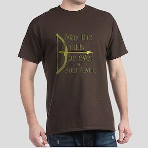 Odds Favor Bow Arrow Dark T-Shirt
