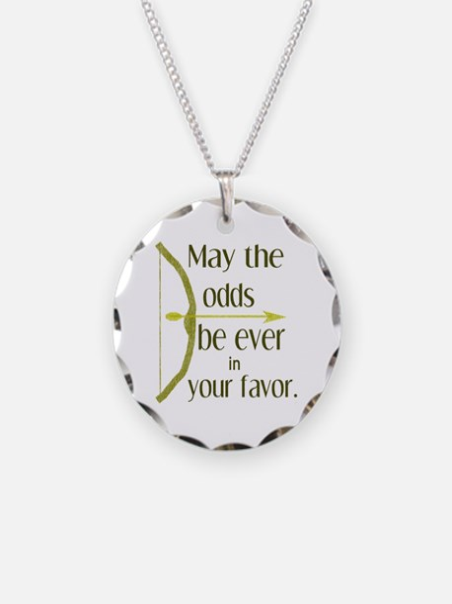 Odds Favor Bow Arrow Necklace