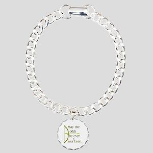 Odds Favor Bow Arrow Charm Bracelet, One Charm