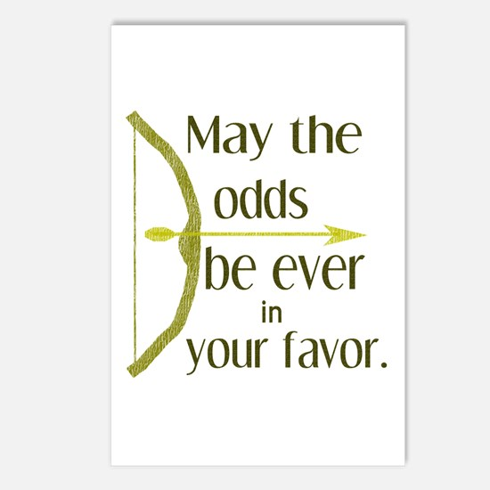 Odds Favor Bow Arrow Postcards (Package of 8)