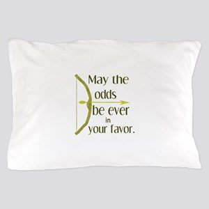 Odds Favor Bow Arrow Pillow Case