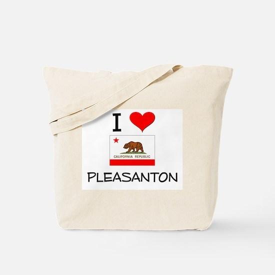 I Love Pleasanton California Tote Bag