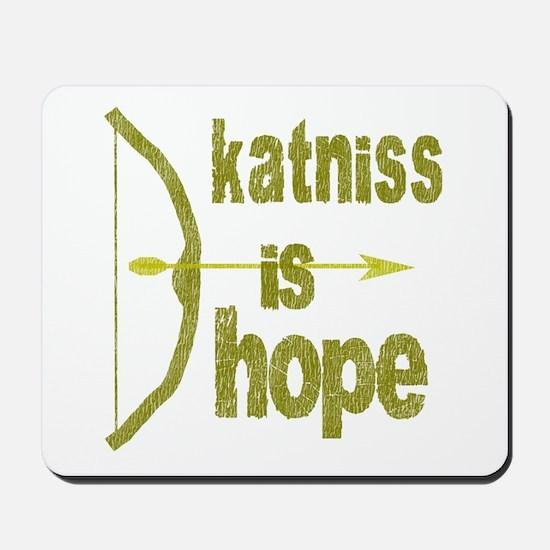 Katniss is Hope Bow Arrow Mousepad