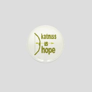 Katniss is Hope Bow Arrow Mini Button