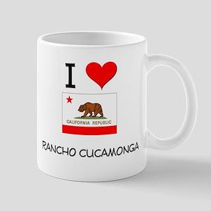 I Love Rancho Cucamonga California Mugs