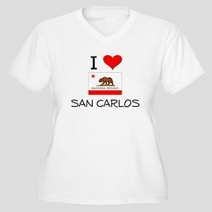 I Love San Carlos California Plus Size T-Shirt