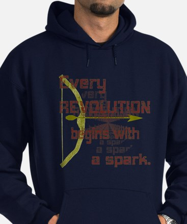 Revolution Spark Bow Arrow Hoodie (dark)