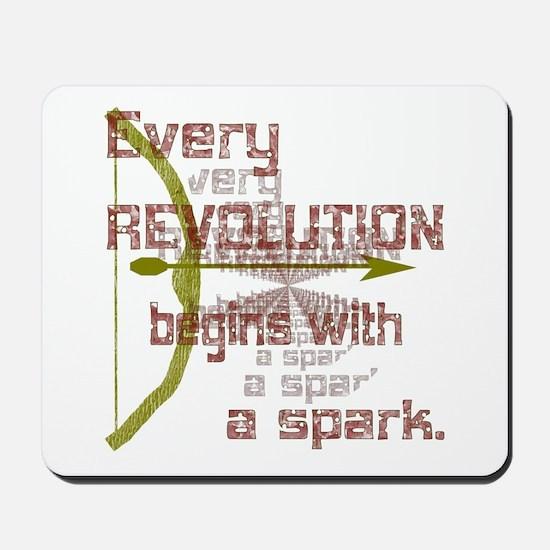 Revolution Spark Bow Arrow Mousepad