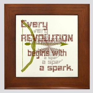Revolution Spark Bow Arrow Framed Tile