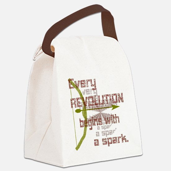 Revolution Spark Bow Arrow Canvas Lunch Bag