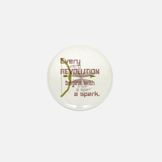 Revolution Spark Bow Arrow Mini Button