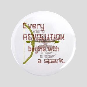 """Revolution Spark Bow Arrow 3.5"""" Button"""