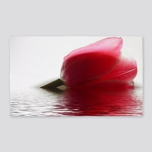 Tulip Wave Floral 3'x5' Area Rug