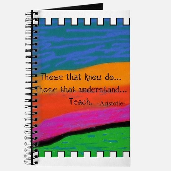 Teacher Appreciation Journal