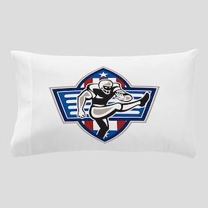 American Football Placekicker Pillow Case