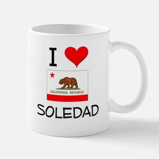 I Love Soledad California Mugs