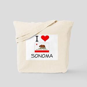 I Love Sonoma California Tote Bag