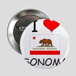 """I Love Sonoma California 2.25"""" Button"""