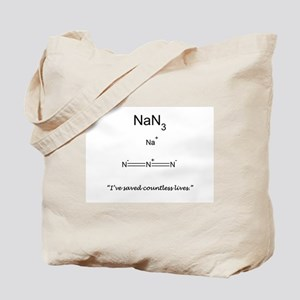 I Save Lives Tote Bag