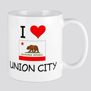 I Love Union City California Mugs