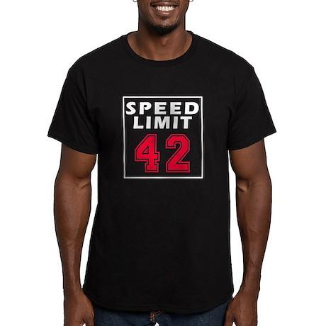 Speed Limit 42 Men's Fitted T-Shirt (dark)