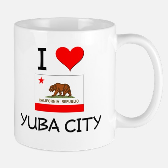 I Love Yuba City California Mugs