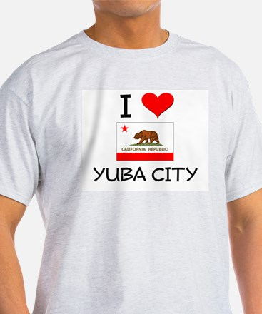 I Love Yuba City California T-Shirt