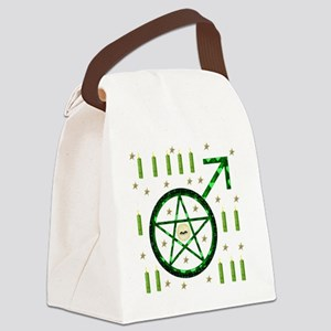 Male Witch Warlock Canvas Lunch Bag