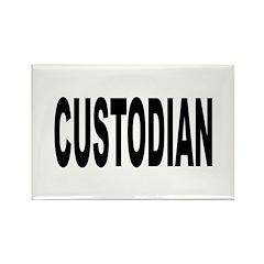 Custodian Rectangle Magnet (10 pack)