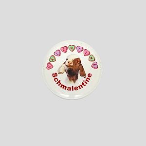 Goat Valentine Schmalentine Mini Button