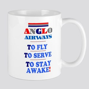 ANGLO AIRWAYS PARODY - TO FLY - TO SERVE - TO STAY