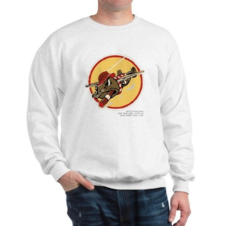 Bulldogs + Blood Chit on back Sweatshirt