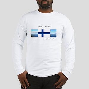 Suomi Finland souvenir Long Sleeve T-Shirt