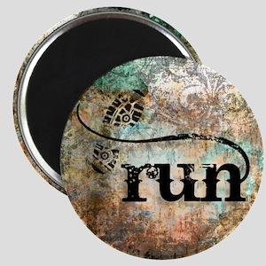 Run by Vetro Designs Magnet
