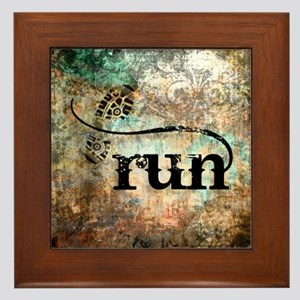 Run by Vetro Designs Framed Tile