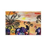 Indian Elephant Parade Magnets