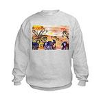 Indian Elephant Parade Sweatshirt